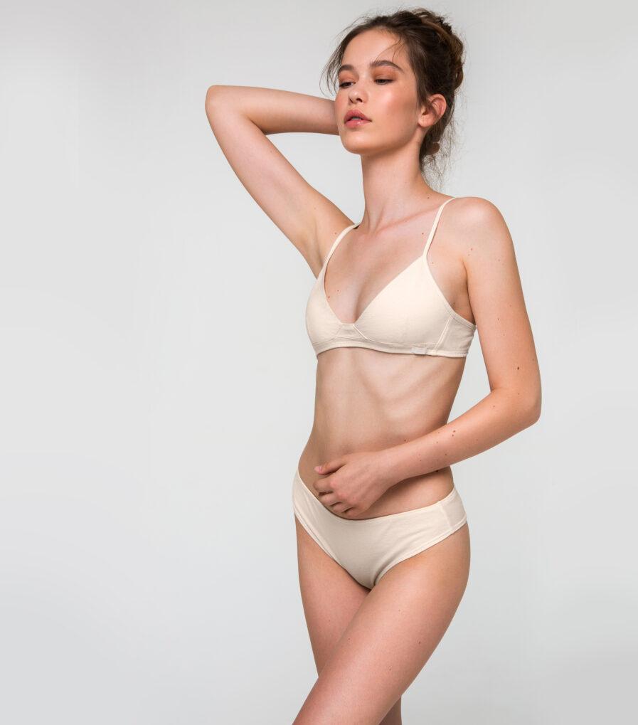 Bavlnené nohavičky brazílky - 100% organická bavlna