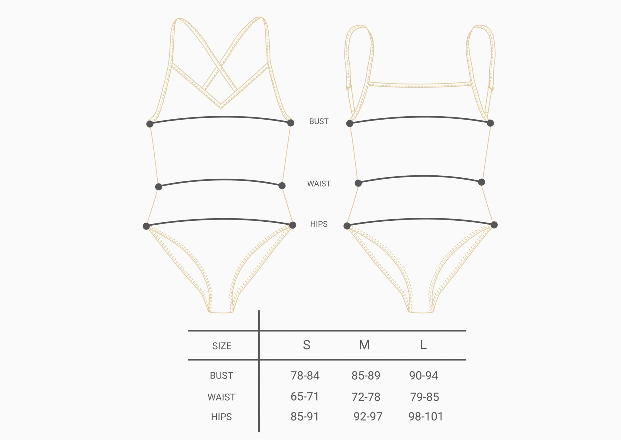 bodysuit size chart 100% organic cotton creeme