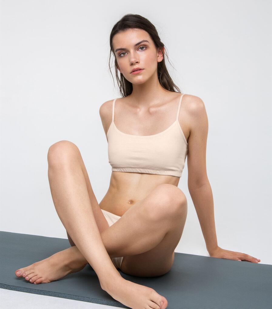 Bavlnené spodné prádlo pre jogínky