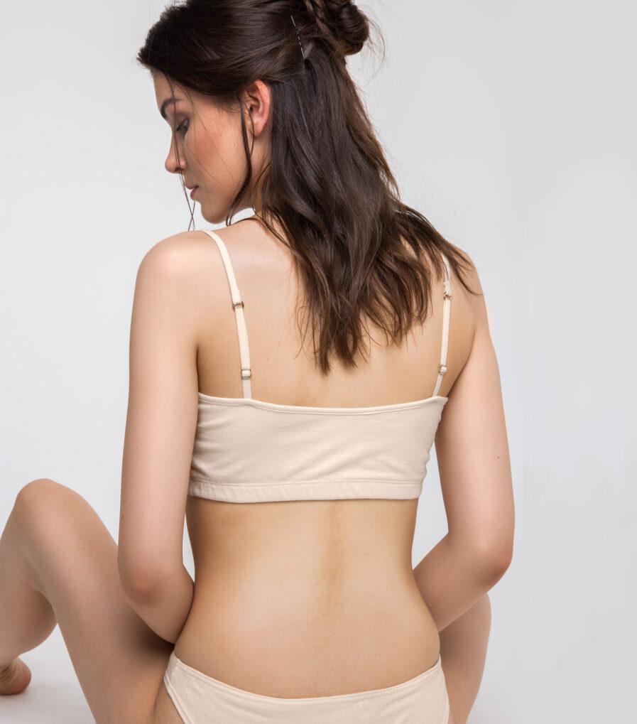 Bavlnená spodná bielizeň pre jogínky