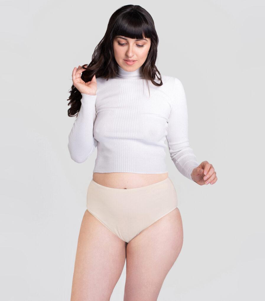 Nohavičky s vysokým pásom - udržateľná móda (sustainable underwear)