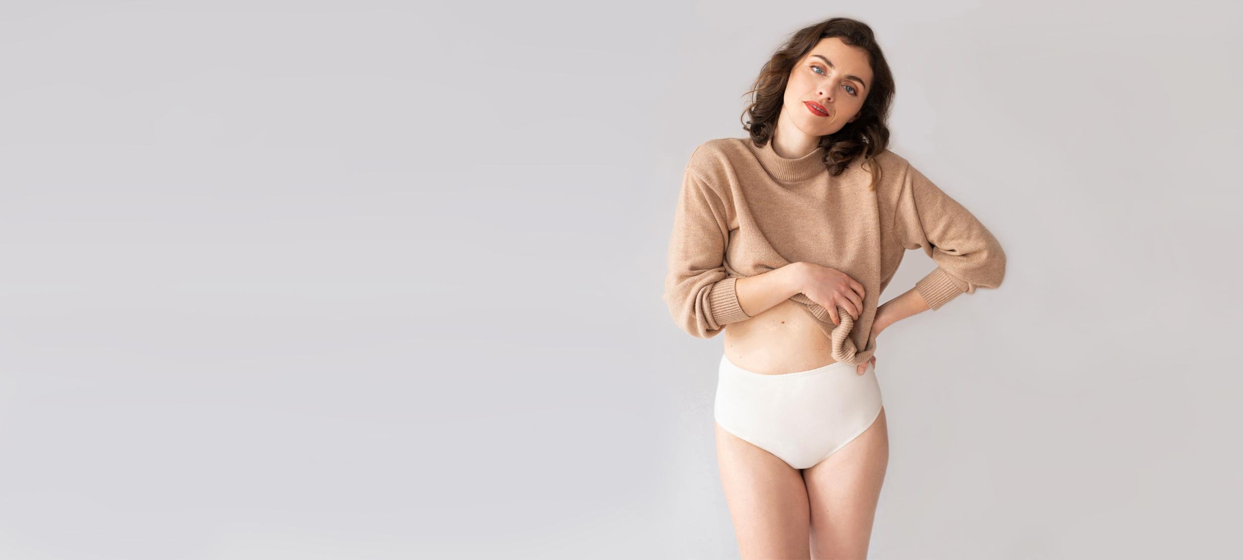 Naturálna spodná bielizeň značky Créeme ideálna pre citlivú pokožku