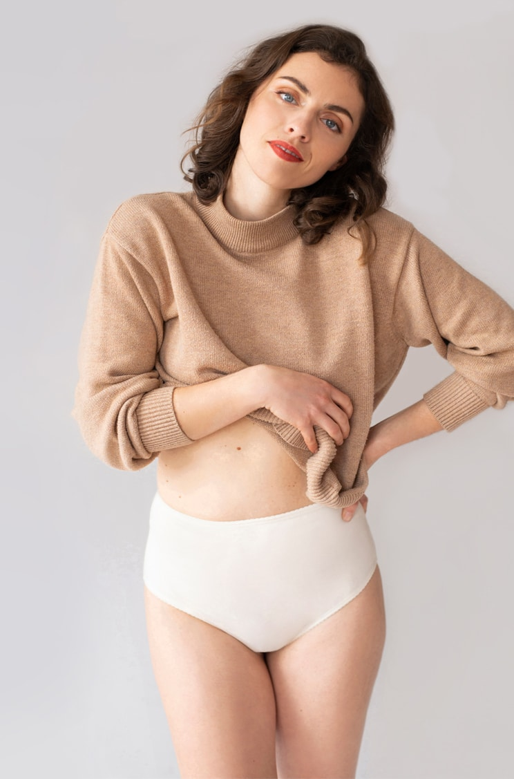 Naturálna spodná bielizeň pre citlivú pokožku