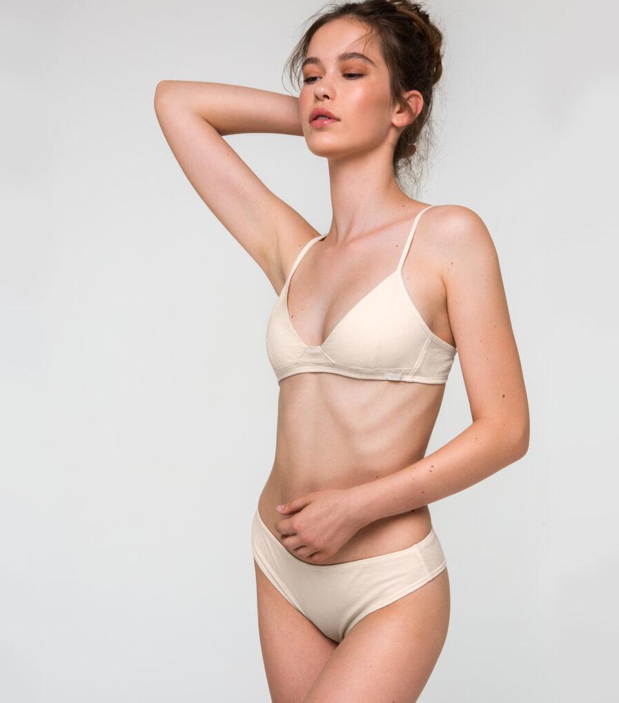 Bavlnená spodná bielizeň dámska pre citlivú pokožku