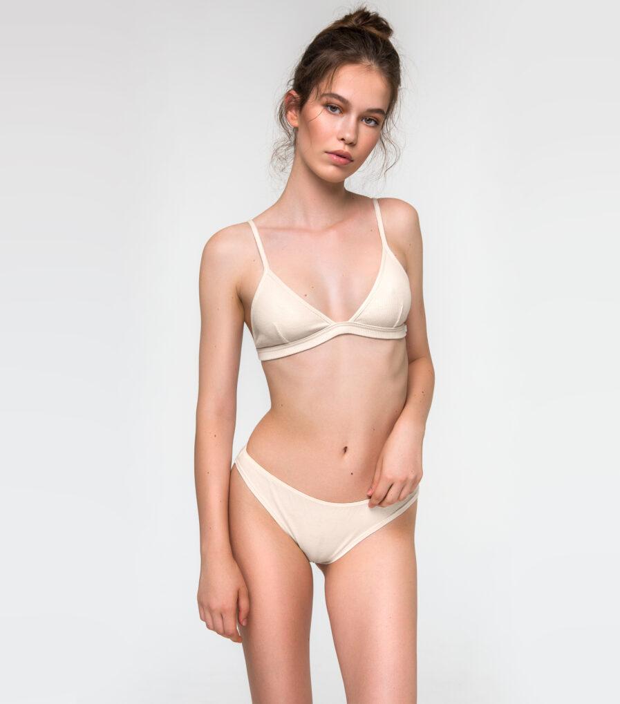 Bavlnené nohavičky bikini - organická bavlna