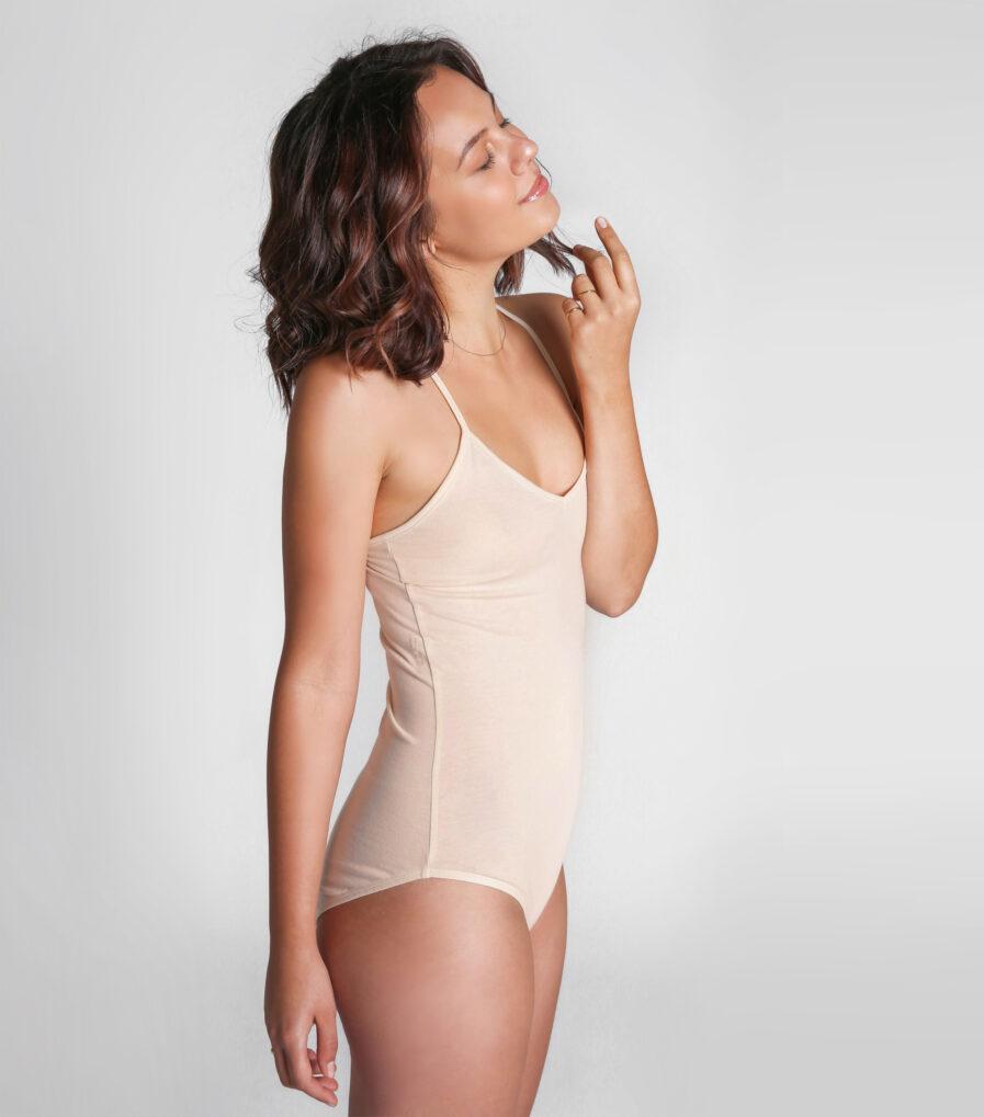 Body Venna zo 100% organickej bavlny - udržateľné spodné prádlo