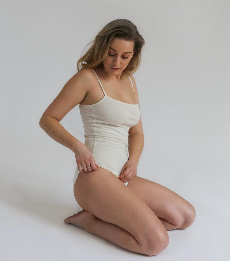 Body Vera zo 100% organickej bavlny - udržateľná spodná bielizeň móda